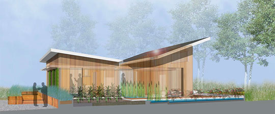 WaterShed, University of Maryland 2011 Solar Decathlon entry