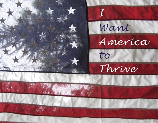 I Want America to Thrive