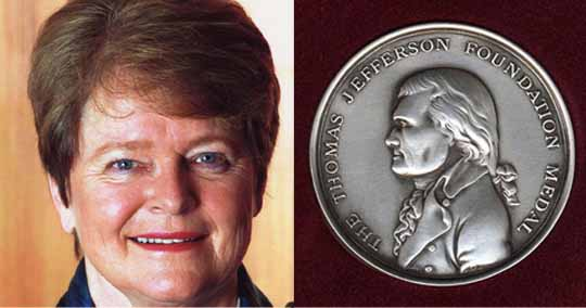 Dr. Brundtland and the Thomas Jefferson Medal